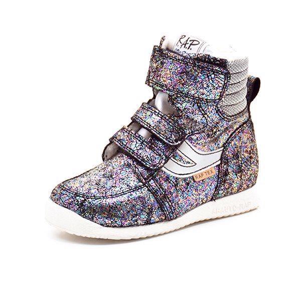 cb967687fa2e Arauto RAP TEX sneakerstøvle multi glimmer