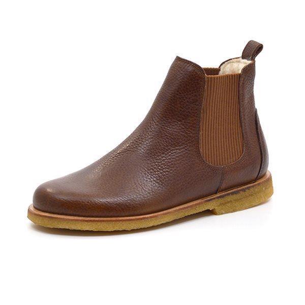 c48b327431a Angulus Chelsea boot m. foer cognac
