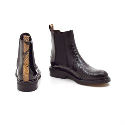 Billi Bi chelsea boot snake karry/sort