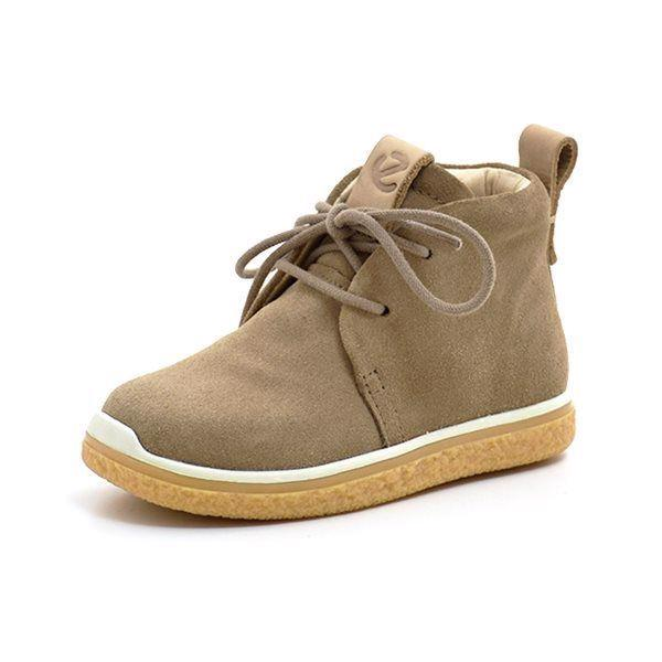 7f940606b05f ECCO Crepetray snøresko navajo brown - Super sød sneaker fra ECCO i lækkert  sandfarvet ruskind fin