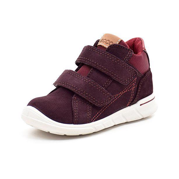 ECCO First sneaker ruskind bordeaux