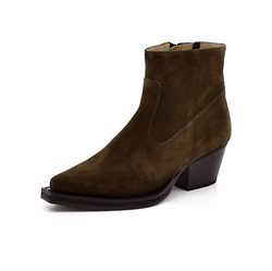 Angulus Western boot ruskind oliven