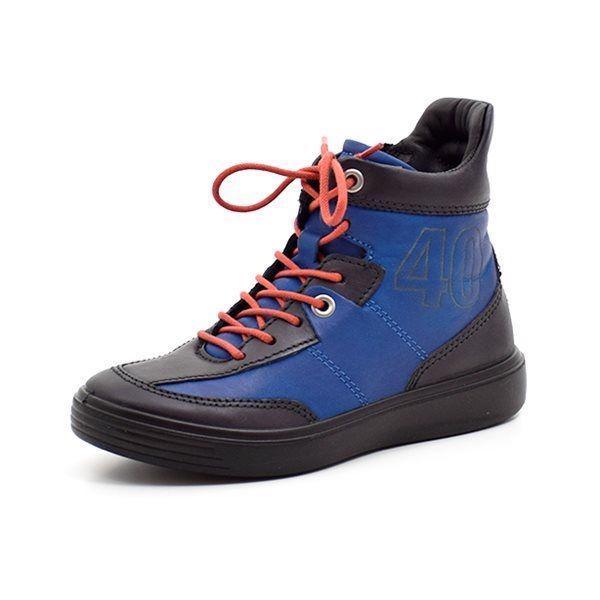 7fcabb0c0965 ECCO S7 sneaker sort blå