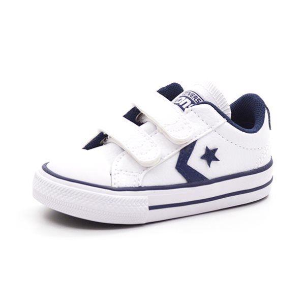 Converse Star Player hvid navy