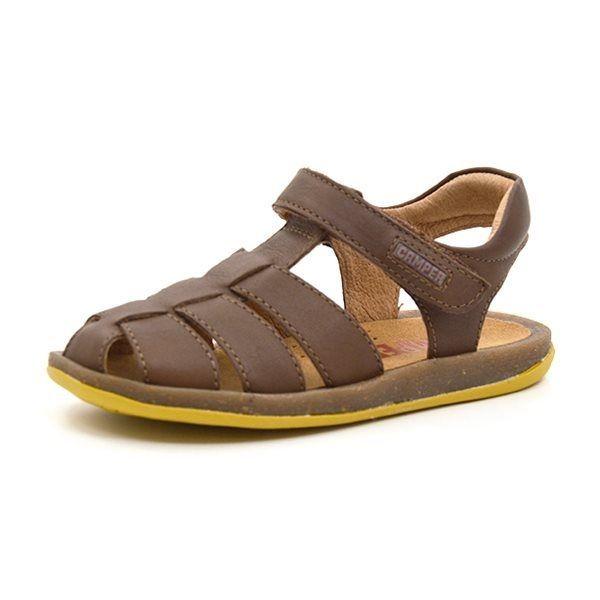 61d556269595 Camper Kids Bicho sandal mørk brun