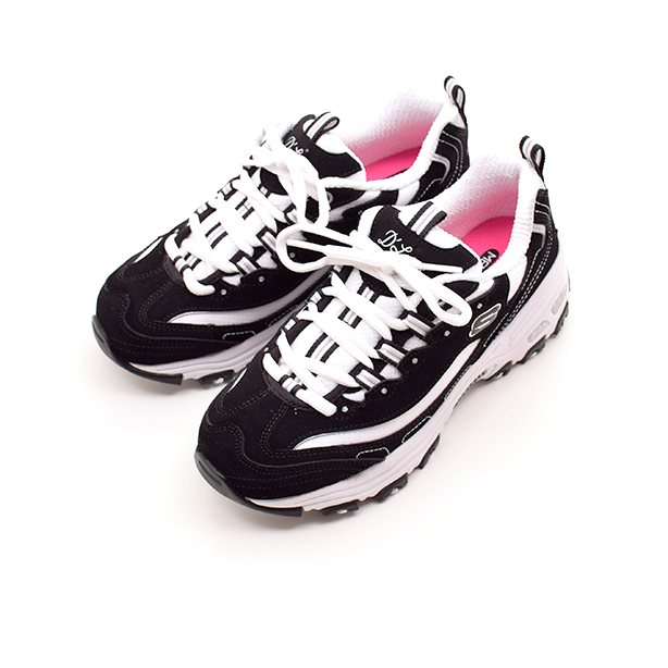 Skechers D'lites biggest fan sneaker hvidsort