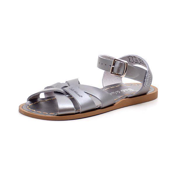 Salt-Water original sandal mørk metallic