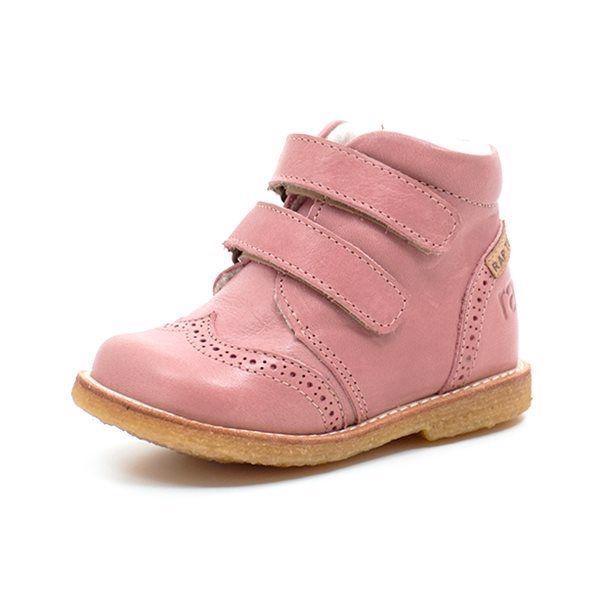 dc74ef7574f0 Arauto RAP babystøvle m. TEX velcro rosa