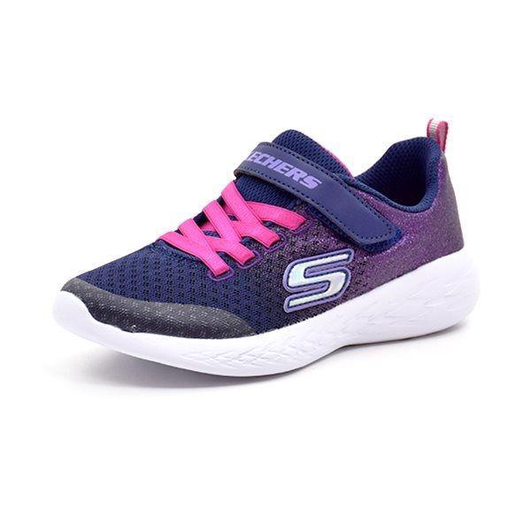 Skechers Girls go Run 600 sneaker  pink/lilla