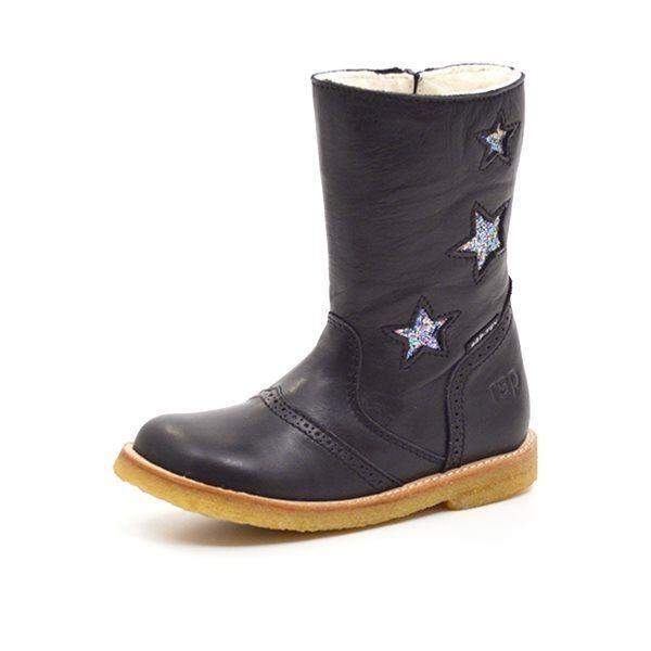 dae61918352 Arauto RAP TEX-støvle m. stjerner sort