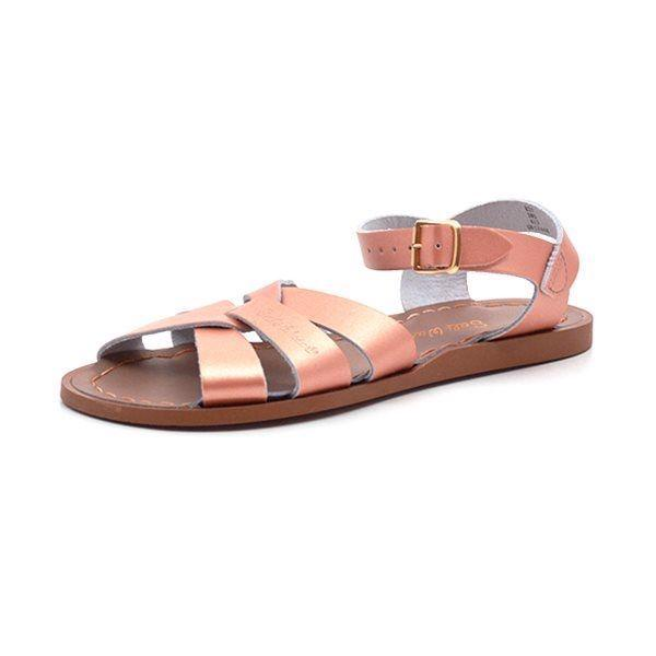 Salt Water Original sandal gylden/rosa