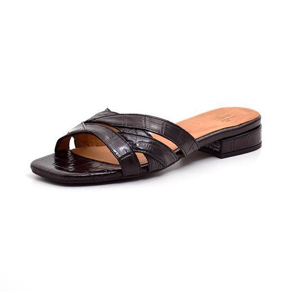 Billi Bi slip-in sandal croco sort