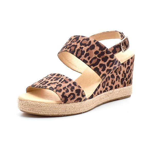 1129c5037e30 Billi Bi espadrillos sandal ruskind leopard