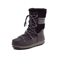 Moon Boot Monaco Woll Mid sort
