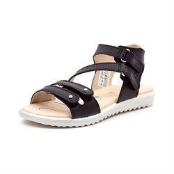 70fbbe802f88 SuperFit Maya høj sandal m. skrå rem sort