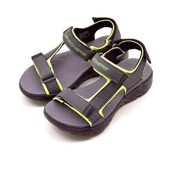 9c36536cce79 Skechers Boys on the go 400 sandal neon gul sort grå