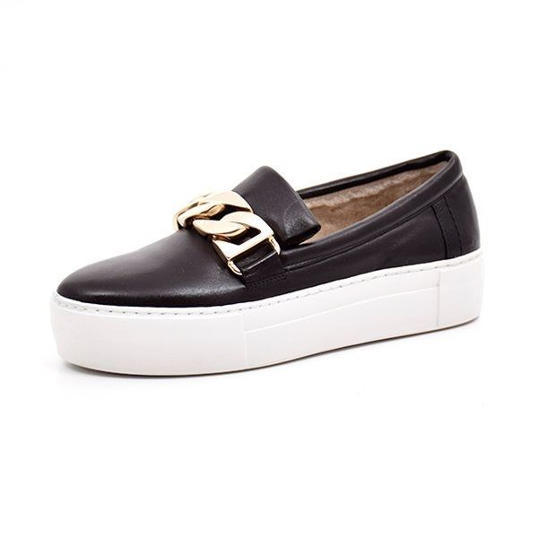 Billi Bi sport slip-on med foer, sort
