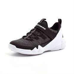 9b405bcde47 Skechers Boys DLT-A sneaker hvid/sort