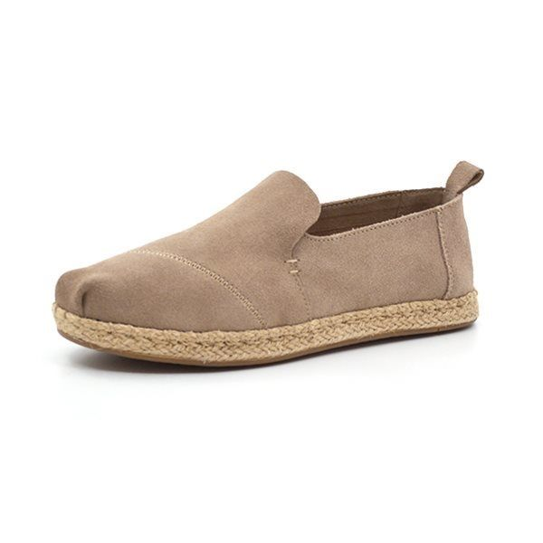 Toms Classics suede sand