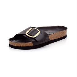 AMUST Gry Big Buckle sandal sort