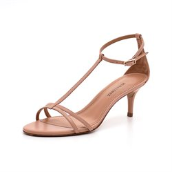 Pura Lopez støvlet m.slids brun