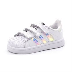 Adidas Superstar Cf 1 hvid/metallic