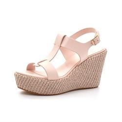 Apair Wedge sandal nude/lys rosa