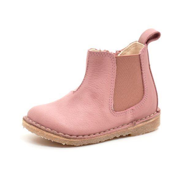 d4fe982f1df1 Bundgaard Opa lux Chelsea støvlet rosa