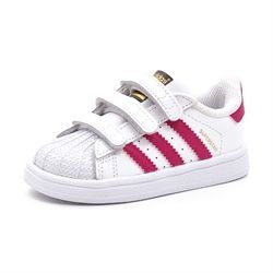 Adidas Superstar Foundation Cf 1 hvid/pink