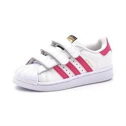 Adidas Superstar Foundation Cf C hvid/pink