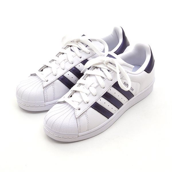 competitive price 3c1b4 3a181 Adidas Superstar w hvidlilla metallic