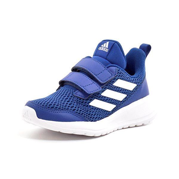 2d7a9bf27743 Adidas AltaRun CF K blå - Super lækker sneakers fra Adidas i blå mesh med  hulmønster