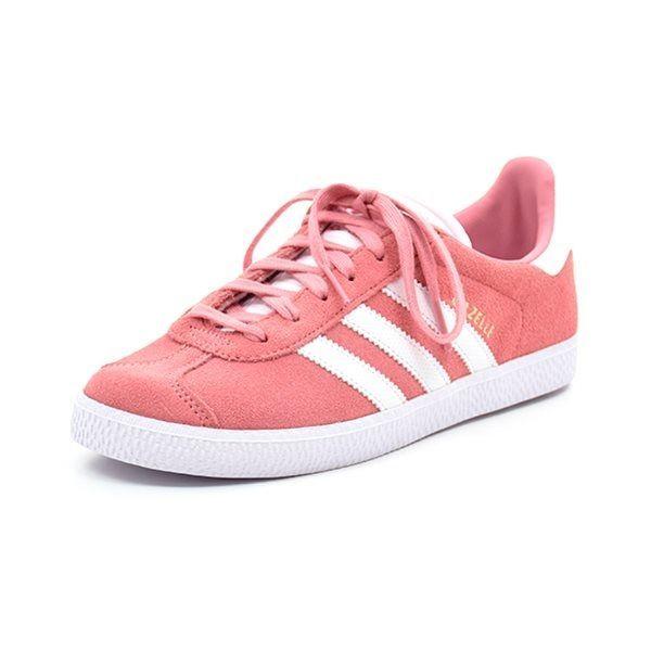 8240f108 Adidas Gazelle J sneaker fersken/rose - Superlækker sneaker fra Adidas i  rosa/fersken