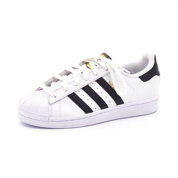 Adidas Superstar Hvid Sort