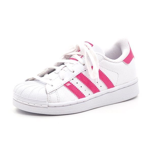 adidas superstar neon pink