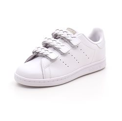 Adidas Stan Smith Cf C flettede remme/hvid