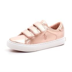 Lave Sneakers Lås Ralph Lauren DYLAND Hvid Lave Sneakers