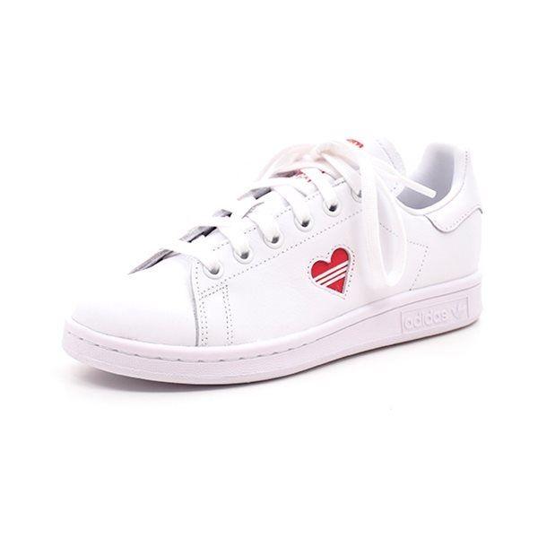 Adidas Stan Smith W m.hjerte hvid