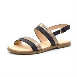 Geox Karly sandal sort/bronze