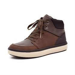 Geox Matt vintersneaker coffee/sort