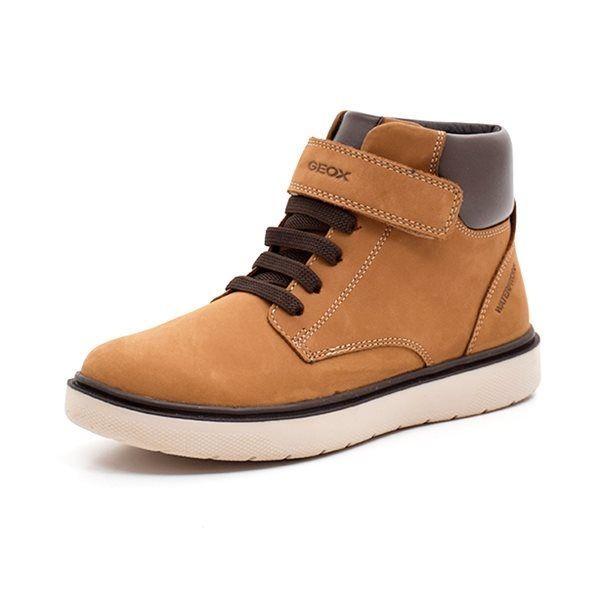 98465e619336 Geox J Riddock B. vintersneaker senneps gul