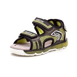 Geox Android sandal lime/sort