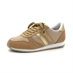 Tommy Hilfiger Jaimie sneakers m. snøre guld