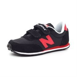 New Balance 410 sort/rød