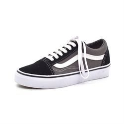 VANS Old Skool m. snøre sort grå