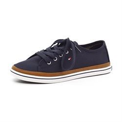 Tommy Hilfiger canvas sneakers navy