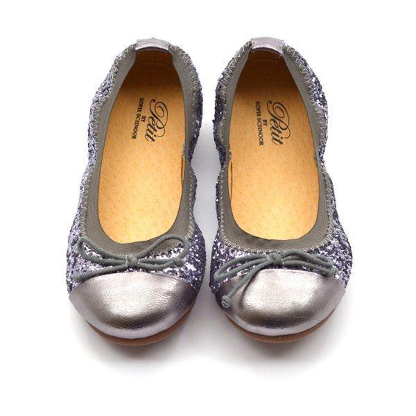 Sofie Schnoor One color Glimmer Sandaler Sølv Dame Sko