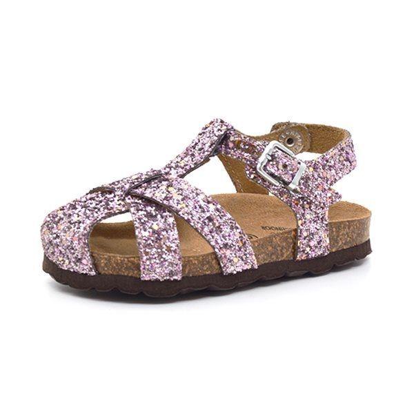 f57c394945e Petit by sofie schnoor sandal lukket glimmer rosa