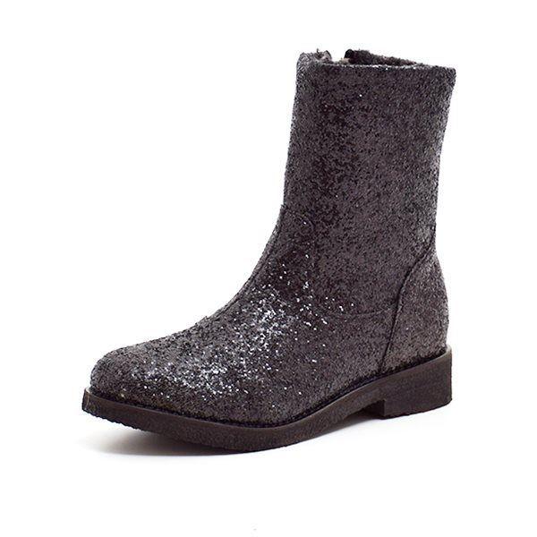 650fafe5616 Petit by sofie schnoor støvle m. glimmer sort
