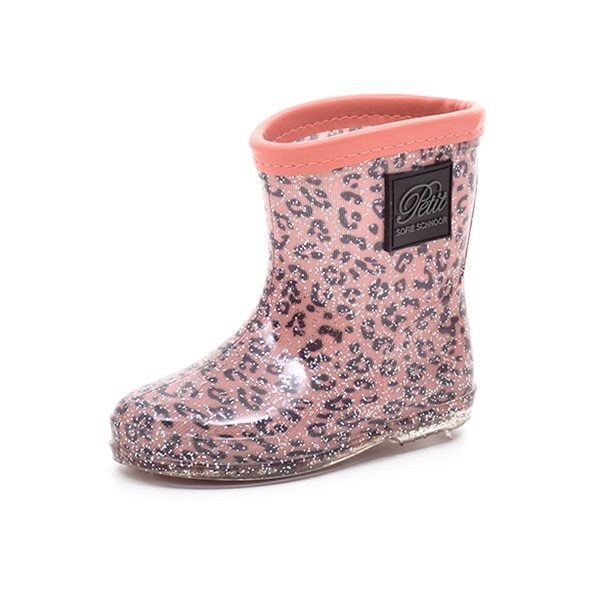 e2ee78f7cee Petit by sofie schnoor gummistøvle rosa/leopard